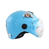 Mũ bảo hiểm trẻ em 1/2 đầu có kính hình siêu nhân cho bé trai chính hãng Bktec nón bảo hiểm cao cấp