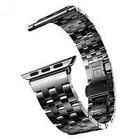 Dây đồng hồ dành cho Apple Watch, Dây mắt xích dọc thép không gỉ cho đồng hồ Apple Watch