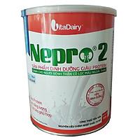 Sữa bột Nepro 2 Dinh dưỡng y tế cho bệnh nhân chạy thận nhân tạo ( lọc máu - 800 gr.