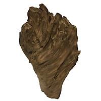 Gỗ lũa ngọc am tự nhiên phong thủy (Mã 45 Cao 40cm x 24cm x 3,8kg)