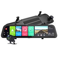 Camera hành trình gương ô tô cao cấp Phisung Z68 tích hợp 4G, Wifi, 12 inch, hệ điều hành android 8.1 OS