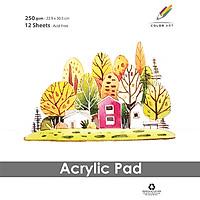 Tập Giấy Vẽ A4 Acrylic Pad