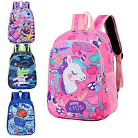Boys Girls Nursery School Bag Cartoon Pattern Backpack for Kids