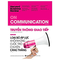 Tủ Sách Dành Cho Doanh Nhân: HBR On Communication - Truyền Thông Giao Tiếp; Tặng Cây Viết Sapphire