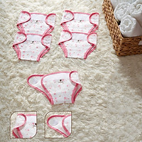 Set 5 tã vải, quần đóng bỉm vải thở POINTELLE Lullaby cho trẻ sơ sinh