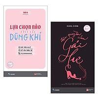 Combo Sách Kỹ Năng Cho Bạn Nữ - Tủ Sách Quý Cô: Lựa Chọn Nào Cũng Cần Dũng Khí + Đặc Quyền Của Gái Hư / Những Cuốn Sách Giúp Phái Nữ Trở Nên Bản Lĩnh và Tự Chủ