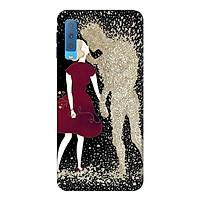 Ốp Lưng Dành Cho Điện Thoại Samsung Galaxy A7 2018 - Người Tình Hư Vô Mẫu 3