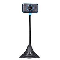 Webcam USB 2.0 Độ Nét Cao 480p Có Micrô Ống Linh Hoạt Cho PC Máy Tính Xách Tay
