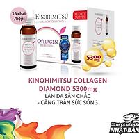 Nước Uống Đẹp Da Bổ Sung Collagen Kinohimitsu Diamond 5300 Hộp 16 chai