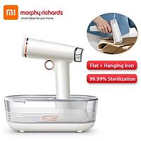 Xiaomi Youpin Morphyrichards Máy hấp quần áo cầm tay Gia dụng Bàn ủi quần áo bằng hơi nước cầm tay Khử trùng 99,99% cho thiết bị gia dụng 220V