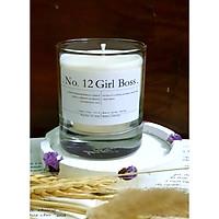 No. 12 Girl Boss - Nến thơm sáp ong và hỗn hợp tinh dầu: coffee, nhục đậu khấu, rêu và quế
