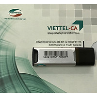 Mua mới chữ ký số USB TOKEN Viettel - Gói đăng ký mới 2 năm chữ ký số Viettel-CA - CHÍNH HÃNG 100%