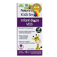 Siro Uống Nature's Way Kids Smart Infant Drops VD3 Bổ Sung Vitamin D Cho Bé 10ml