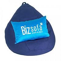 Ghế Lười Hạt Xốp BizSofa - B03 Size L 80x80 cm (Không kèm vỏ lót)