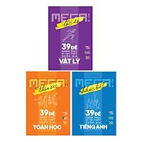 Combo Mega Luyện Đề THPTQG 2019: Toán - Lý - Anh