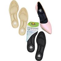 2 cặp lót giày cao gót đa năng 4D cực êm chân, chống thốn gót chân và thấm hút mồ hôi - buybox - BBPK56
