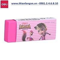 Gôm tẩy màu 4B Deli - E3040 màu hồng