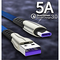 Cáp sạc nhanh 5A Micro USB Dành Cho Các Dòng Điện Thoại / Máy Tính Bản Samsung, Oppo, Huawei