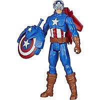 Đồ Chơi Siêu Anh Hùng Titan Và Khiên Chiến Captain American E7374