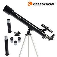 Kính viễn vọng thiên văn CELESTRON PowerSeeker 50AZ 50mm Khẩu độ Lớp phủ nhiều lớp Khúc xạ kế di động có thể gập lại