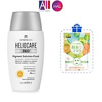 Kem chống nắng ngừa tăng sắc tố Heliocare 360º pigment solution fluid SPF50 50ml TẶNG mặt nạ Sexylook (Nhập khẩu)