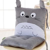 Gối Tựa Lưng Đệm Lót Ghế Gối Ôm Đa Năng Hình Totoro 40x40x40cm