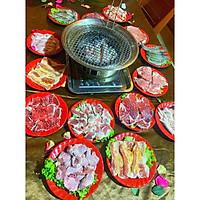Bếp nướng âm bàn hút dương cho quán nướng