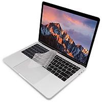 Miếng phủ bàn phím cho MacBook Pro 13 / 15 inch Không Touch Bar 2018 hiệu JCPAL FitSkin Tpu siêu mỏng 0.2 mm - Hàng nhập khẩu