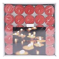 Vỉ 50 Nến Tealight Bông Mai Nycandle FtraMart Candle (Đỏ)