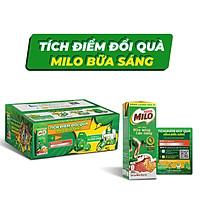 [Chỉ giao HN] [Phiên bản Tích điểm đổi quà] Thùng 36 hộp sữa lúa mạch Nestlé Milo bữa sáng (36x180ml)