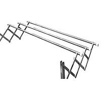 Giàn phơi xếp ống 22mm inox 304 thông minh cao cấp Goda loại 1.2 mét GD-141a