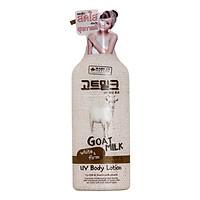 Sữa Dưỡng thể dưỡng trắng và mịn da chống lại tác hại tia UV chiết xuất từ sữa dê Made In Nature 450ml