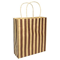Túi Giấy Kraft Họa Tiết 28x24 - Mẫu 3