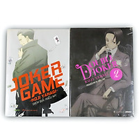 Sách Joker game trọn bộ 02 cuốn: Joker game - Double Joker