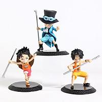 Combo 03 Mô Hình Nhân Vật Anh Em Ace, Luffy , Sabo Trong One Piece