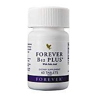 Thực phẩm chức năng bổ sung B12 và Acid Folic  cho cơ thể Forever B12 Plus (60 Viên)