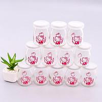 Combo 12 hũ làm sữa chua thủy tinh cao cấp - BCSC