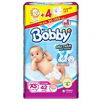 Tã Dán Sơ Sinh Bobby Gói Trung XS42 (42 Miếng)