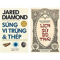 Combo Sách Lịch Sử Thế Giới : Súng, Vi Trùng Và Thép +  Lịch Sử Do Thái
