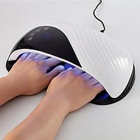 Máy hơ gel sơn móng tay (Loại rộng 2 tay) - Máy sấy khô sơn làm nail - MD1