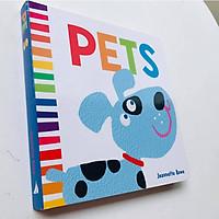 Sách : Jr Baby Board Book Pets - tìm hiểu về thú cứng