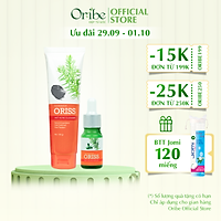 Combo Hỗ Trợ Trị Mụn Oriss - Sữa Rửa Mặt Ngừa Mụn Oriss 100g + Serum ngăn ngừa mụn Oriss 10ml