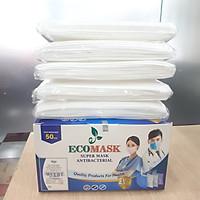 Khẩu Trang Y Tế Cao Cấp Kháng Khuẩn 4 Lớp Ecomask (Hộp 50 cái)