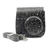 Bao Da Bảo Vệ Máy Chụp Ảnh Lấy Liền Instax Mini 9 Hoặc Mini 8 CASE939 - Blackboard - Hàng Nhập Khẩu
