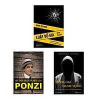 Combo Nghệ thuật Kinh doanh hắc ám (Luật Bố già - Bóng ma danh vọng - Sự trỗi dậy của siêu lừa Ponzi + hộp)