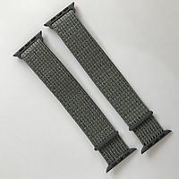 Dây đeo Sport loop cho Apple Watch màu gray series 1.2.3.4