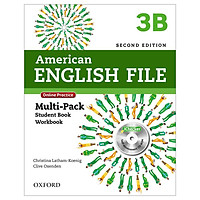 American English File 3B Multi-Pack with Online Practice and iChecker