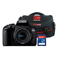 Máy Ảnh Canon EOS 800D KIT 18-55mm  - Hàng Chính Hãng - Tặng Kèm Thẻ Nhớ Và Túi Đựng Máy Ảnh