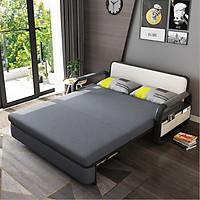 Sofa giường dễ thương cho bé có ngăn để đồ tiện lợi - Giường ngủ gập gọn thành ghế sofa 2 trong 1 T359