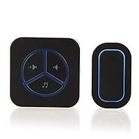 Chuông báo khách thông minh không dây cao cấp dùng trong gia đình, phân xưởng Caz9009 ( Giao màu ngẫu nhiên -Tặng kèm móc khóa 3 in1 )